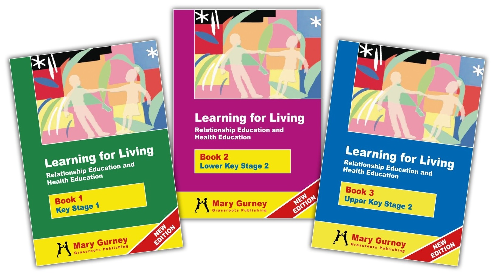 learning 4 living book covers